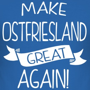 Make Ostfriesland great again - Men's Slim Fit T-Shirt