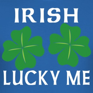 Irish Lucky Me - Men's Slim Fit T-Shirt