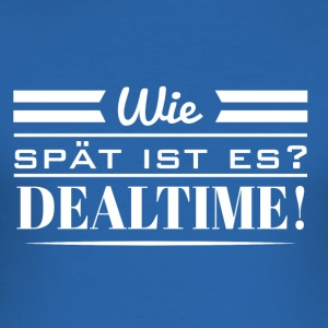 Dealtime - Männer Slim Fit T-Shirt