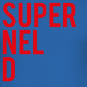 SuperNELdRED-01 - Slim Fit T-skjorte for menn