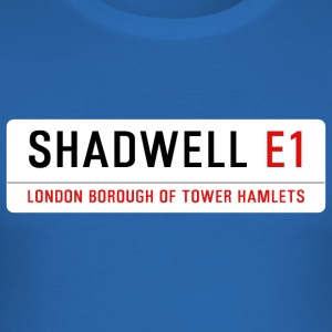 Shadwell Street Sign - Men's Slim Fit T-Shirt