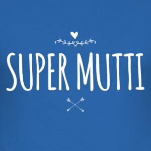 Super Mutti - Männer Slim Fit T-Shirt