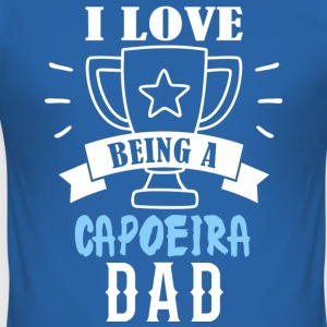 Capoeira far - Herre Slim Fit T-Shirt