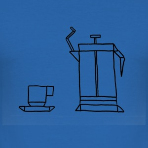 French Press - Herre Slim Fit T-Shirt