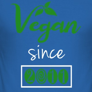 Vegan sedan 2011 - Slim Fit T-shirt herr