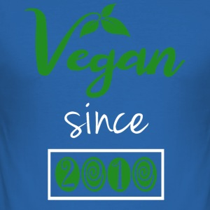 Vegan sedan 2010 - Slim Fit T-shirt herr