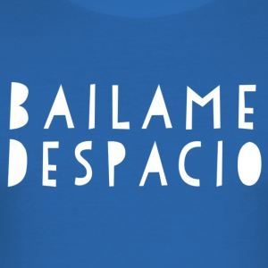 Bailame Despacio - hvid - Mambo New York - Herre Slim Fit T-Shirt