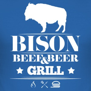 Grill · · Bison Bison Grill - Tee shirt près du corps Homme