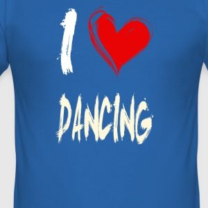 I love dancing - Men's Slim Fit T-Shirt
