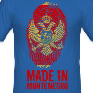 Made in Montenegro / Made in Montenegro - Slim Fit T-skjorte for menn