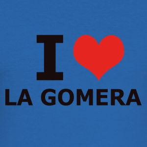 I LOVE LA GOMERA - Männer Slim Fit T-Shirt