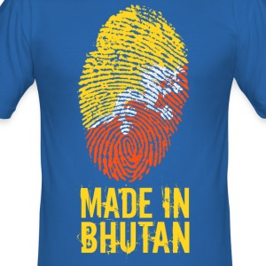 Made In Bhutan / འབྲུག་ ཡུལ་ / Druk Yul - Men's Slim Fit T-Shirt