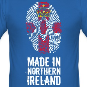 Made In Nord-Irland / Nord-Irland - Slim Fit T-skjorte for menn