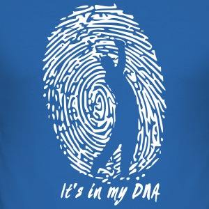 Golf: It's in my DNA - Men's Slim Fit T-Shirt