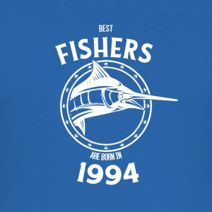 Present for fiskere født i 1994 - Herre Slim Fit T-Shirt