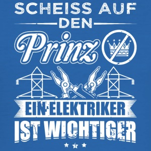 Electrical engineer SCHEISSPRINZ - Men's Slim Fit T-Shirt