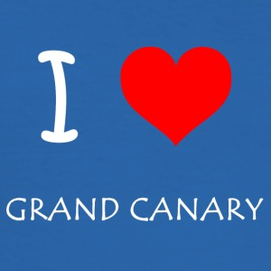 I Love Gran Canaria - Herre Slim Fit T-Shirt