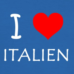 I Love Italien - Männer Slim Fit T-Shirt