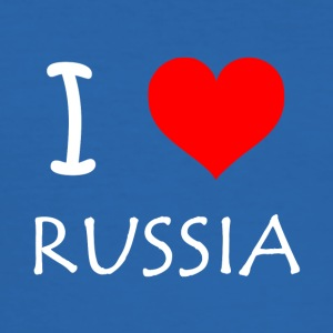 I Love Russia - Men's Slim Fit T-Shirt