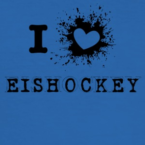 iLove Hockey - Slim Fit T-skjorte for menn