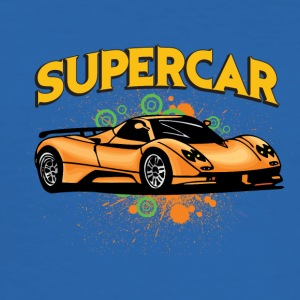 supercar - Männer Slim Fit T-Shirt