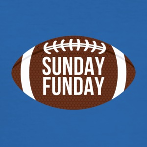 Football: Sunday Funday - Männer Slim Fit T-Shirt