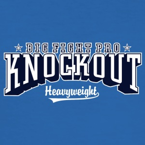 big fight pro knockout 01 - Men's Slim Fit T-Shirt