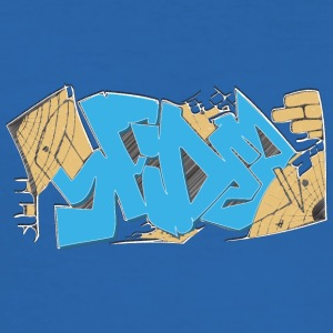 Cool street art graffiti - Slim Fit T-skjorte for menn