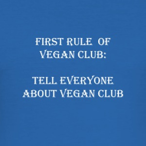 Vegan Club - Men's Slim Fit T-Shirt