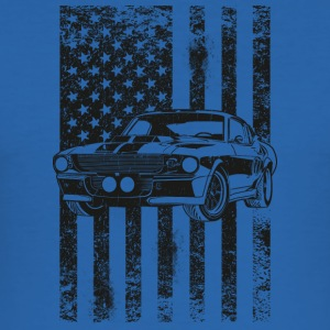 American Flag - Männer Slim Fit T-Shirt