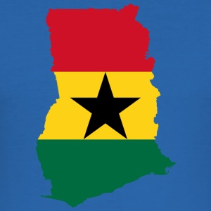 ghana samling - Slim Fit T-skjorte for menn