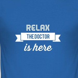 Relax Doctor Design - Men's Slim Fit T-Shirt