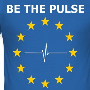 BE THE PULSE - Slim Fit T-skjorte for menn