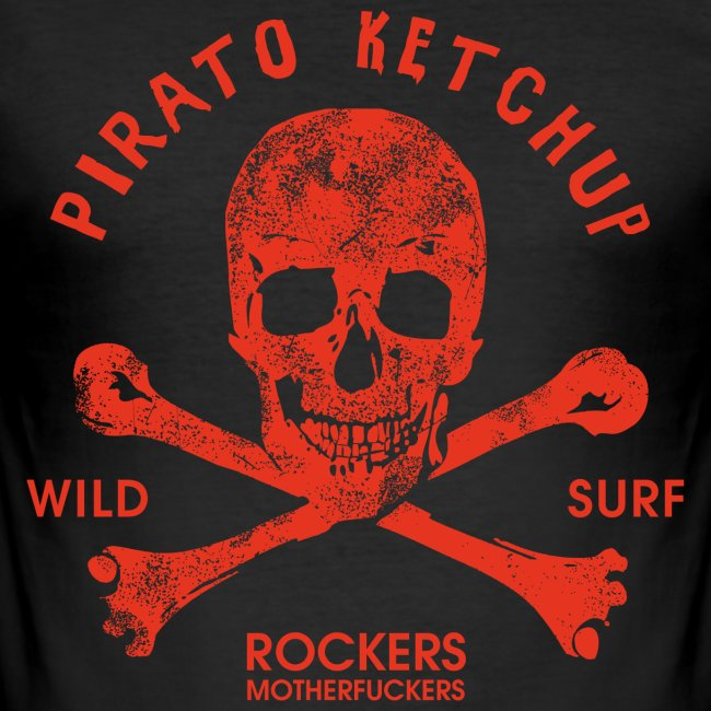 Pirato Ketchup Red Skull