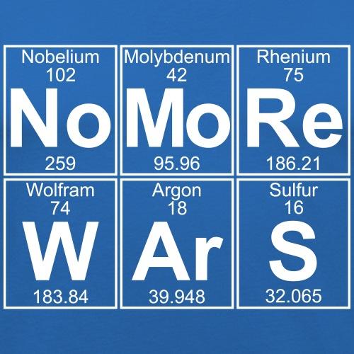 No -Re W-Ar-S (no more wars) - Full - Men's Slim Fit T-Shirt