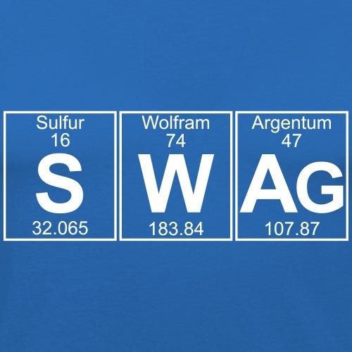 S-W-Ag (swag) - Full - Men's Slim Fit T-Shirt