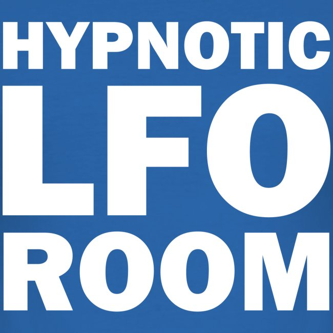 The Hypnotic Lfo Room White Logo