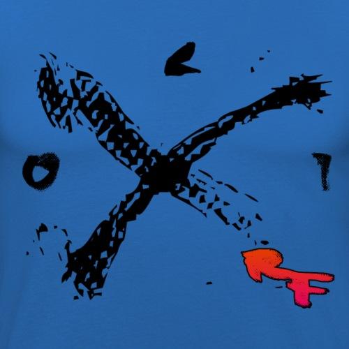 rf nr32 png - Männer Slim Fit T-Shirt