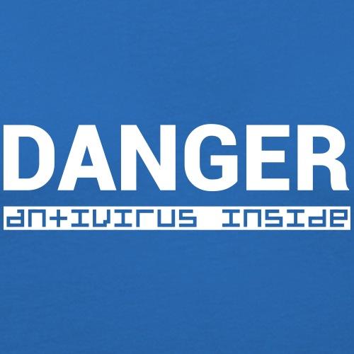 DANGER_antivirus_inside - Men's Slim Fit T-Shirt
