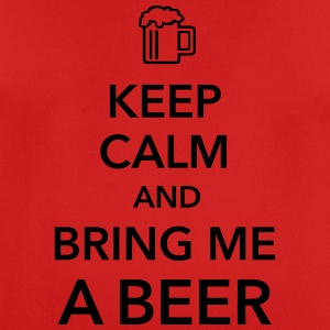 Keep calm and bring me a Beer Biergarten Grillen - Männer T-Shirt atmungsaktiv