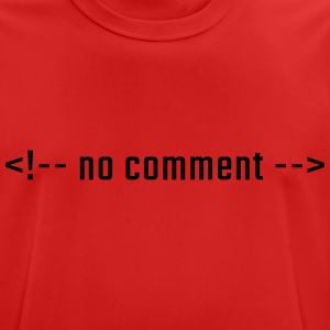No comment - HTML lowercase - Men's Breathable T-Shirt