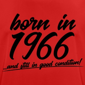 born in 1966 and still in good condition - Männer T-Shirt atmungsaktiv