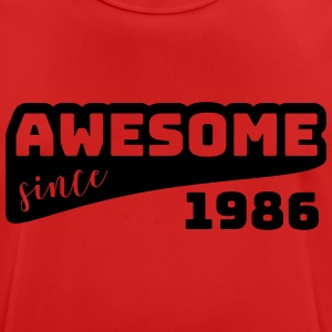 Awesome since 1986 / Birthday-Shirt - Men's Breathable T-Shirt