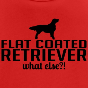 FLAT COATED RETRIEVER what else - Men's Breathable T-Shirt