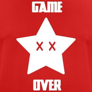Game Over - Mario Star - Herre T-shirt svedtransporterende