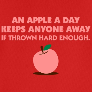 An Apple A Day Keeps Everyone Away! - Men's Breathable T-Shirt