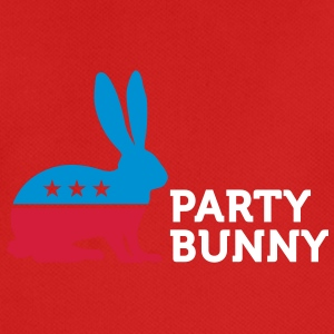 Political Party Animals: Bunny - Men's Breathable T-Shirt