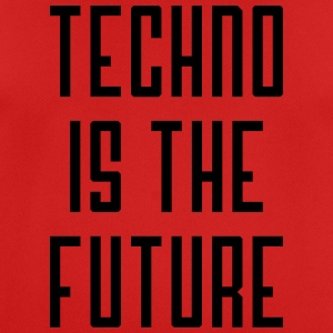 Techno is the future - Men's Breathable T-Shirt