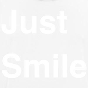 Just Smile - Camiseta hombre transpirable