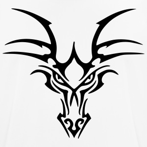 Tribal Dragon Head - Männer T-Shirt atmungsaktiv